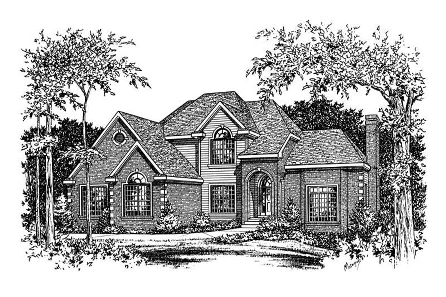 Main image for house plan # 5501