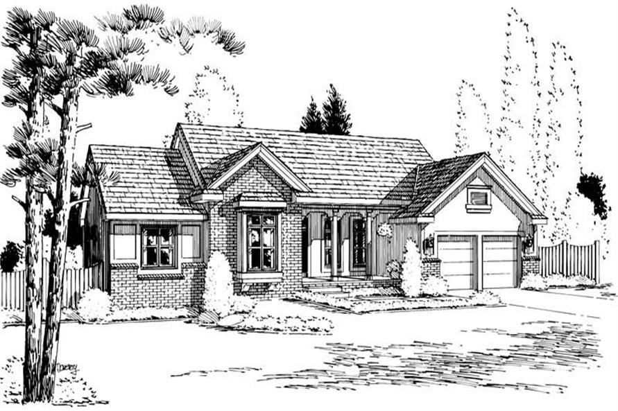 Main image for house plan # 5720