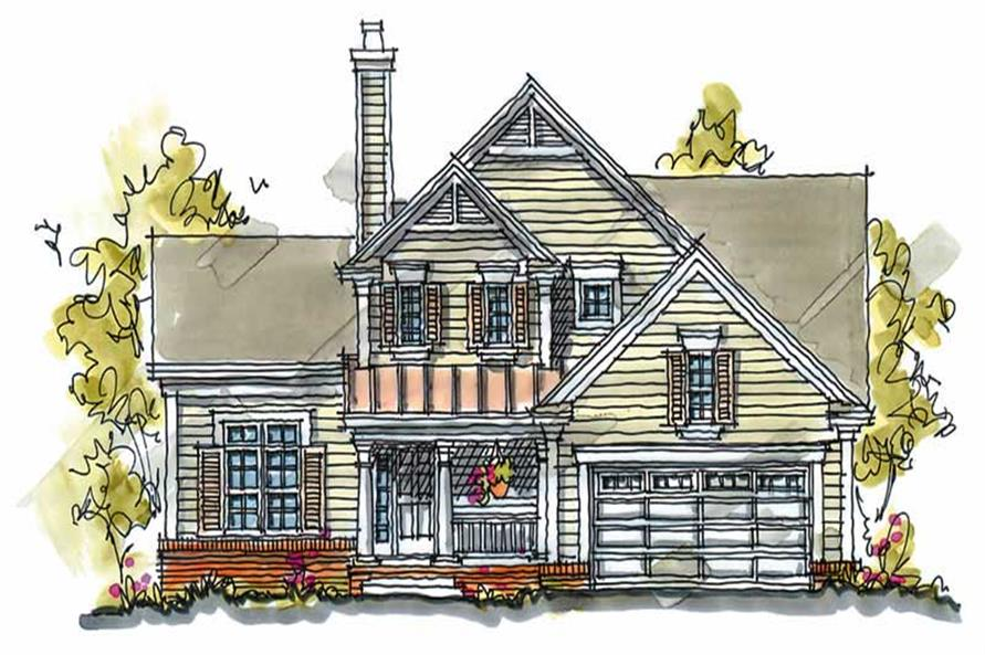 Main image for house plan # 5773
