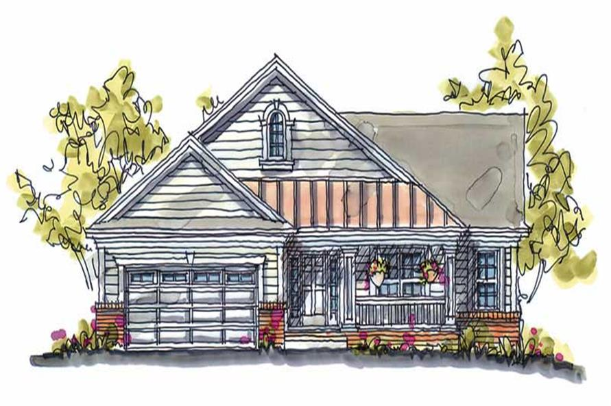 Main image for house plan # 5793