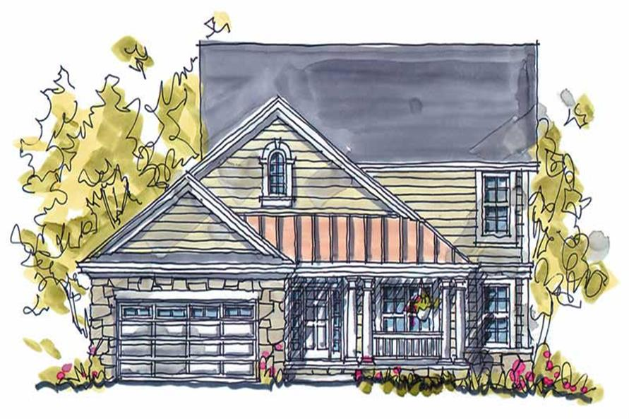 Main image for house plan # 5796