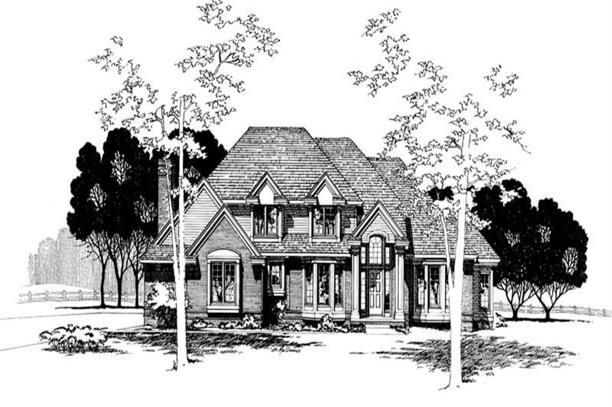 Main image for house plan # 5890