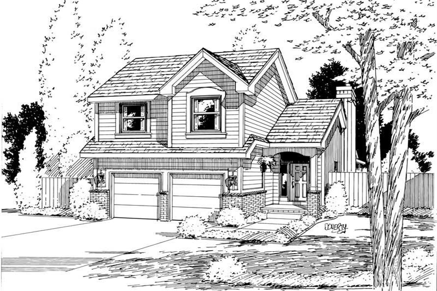 Main image for house plan # 5734
