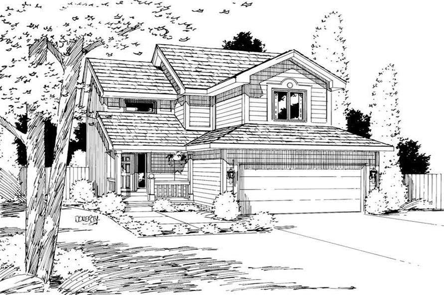 Main image for house plan # 5735
