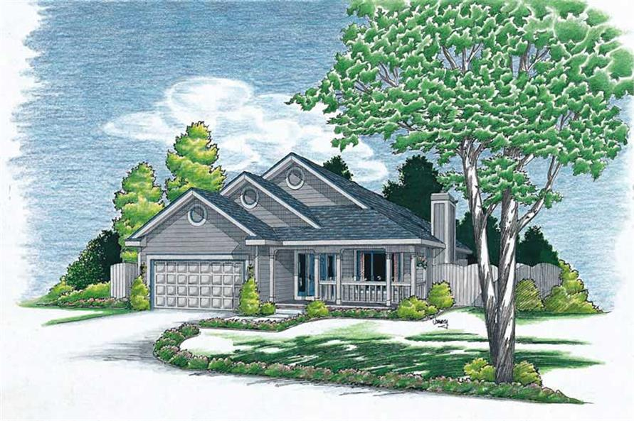 Main image for house plan # 5750