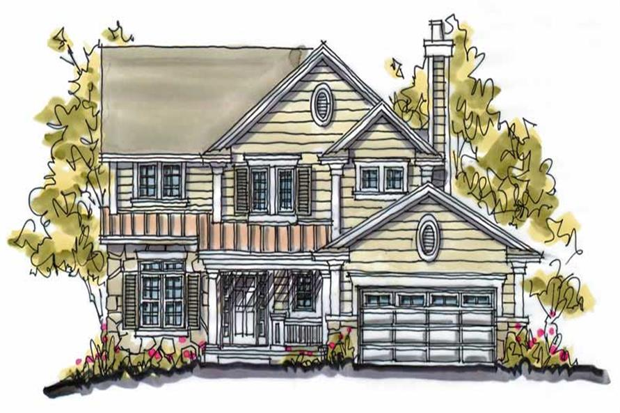 Main image for house plan # 5768