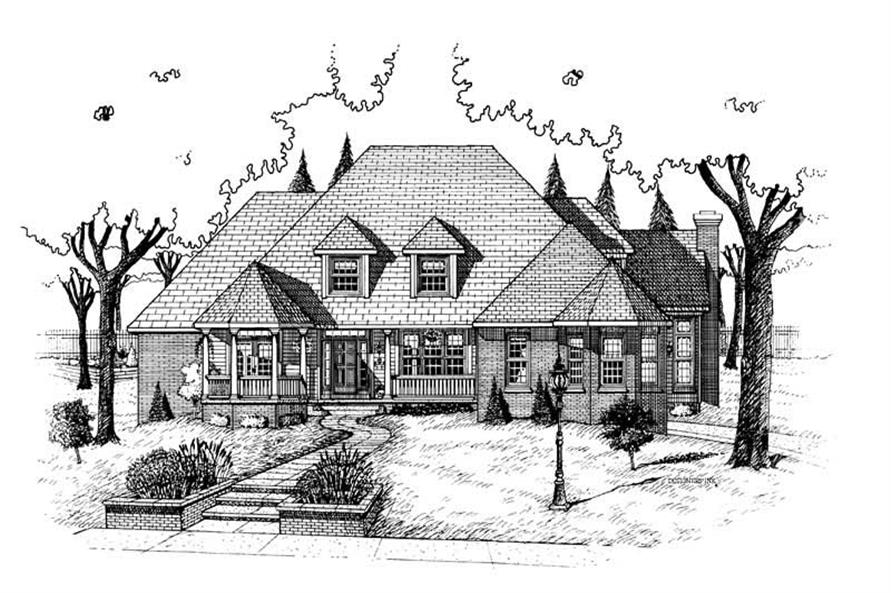 Main image for house plan # 5468