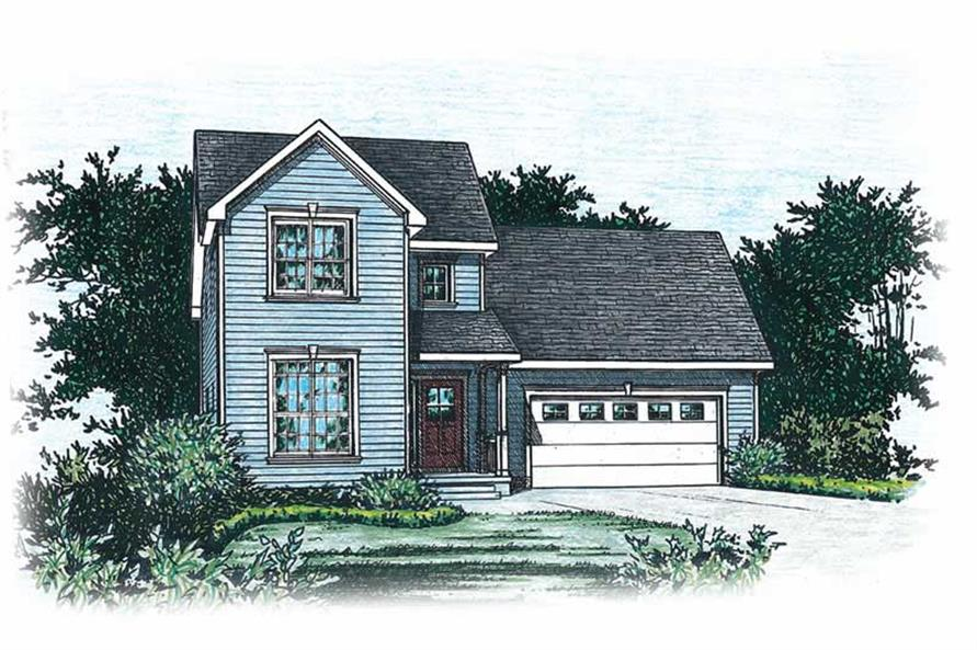 Main image for house plan # 5523