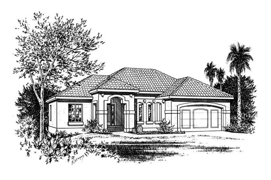Main image for house plan # 5550
