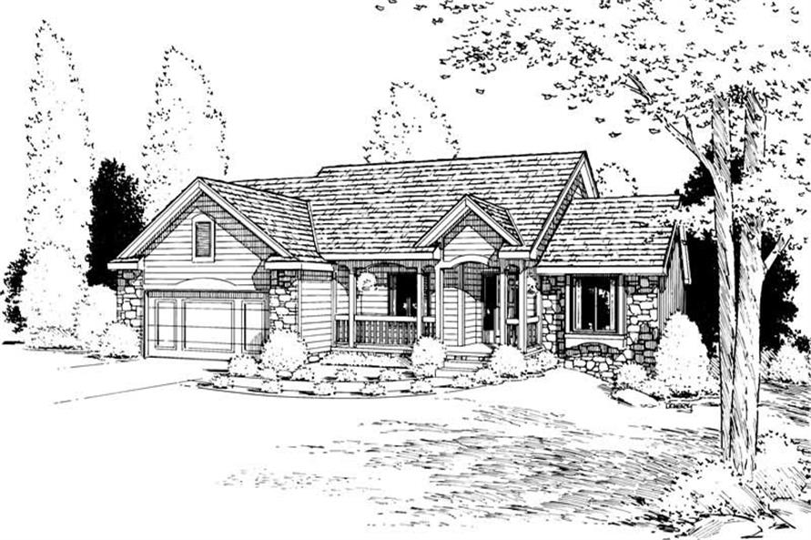 Main image for house plan # 5620