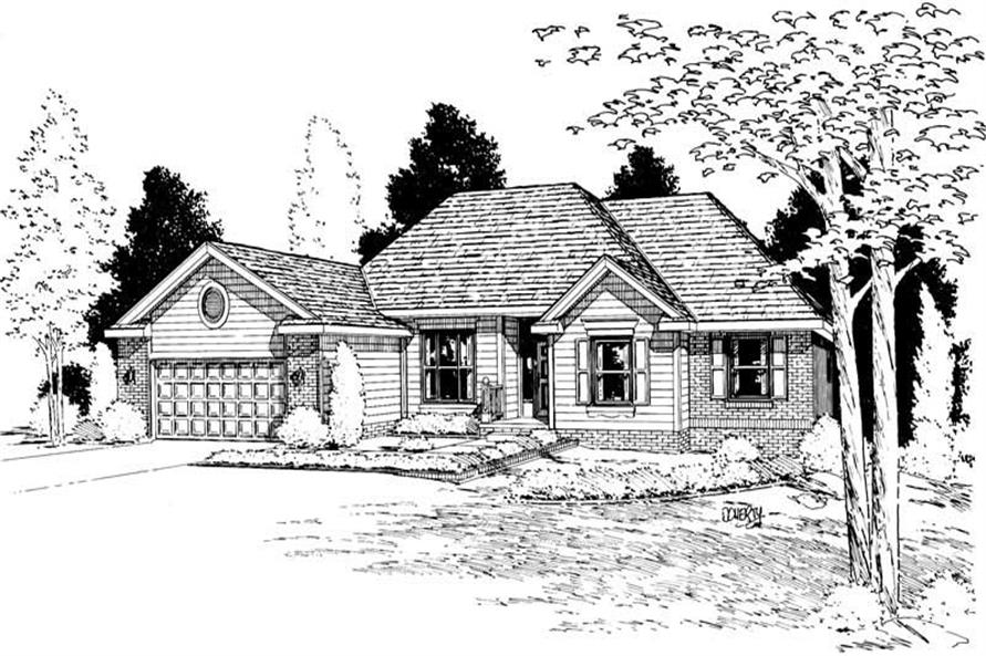 Main image for house plan # 5623