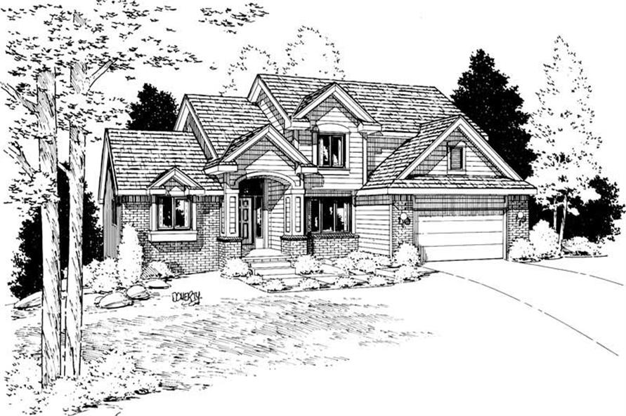 Main image for house plan # 5627