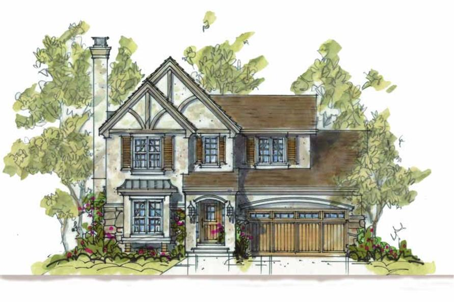 Main image for house plan # 5810
