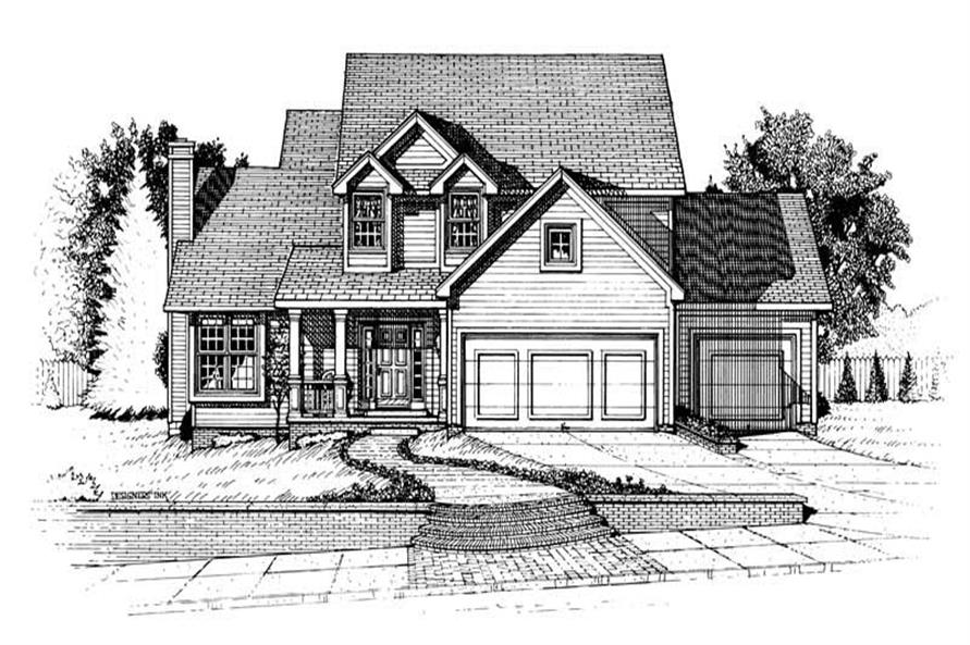 Main image for house plan # 6309