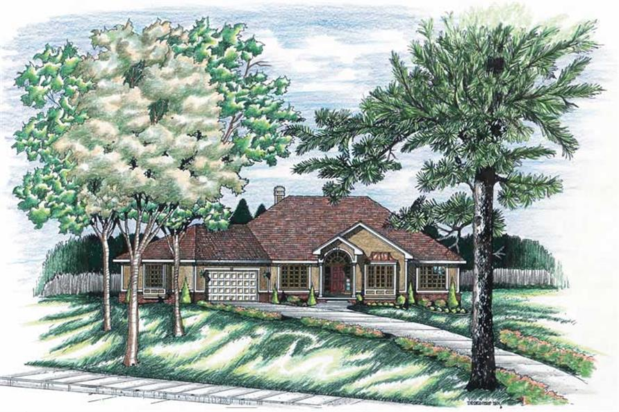 Main image for house plan # 6213