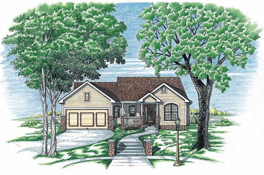 Main image for house plan # 6301