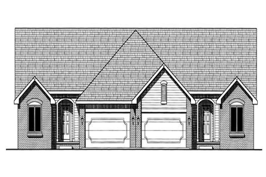Main image for house plan # 6218