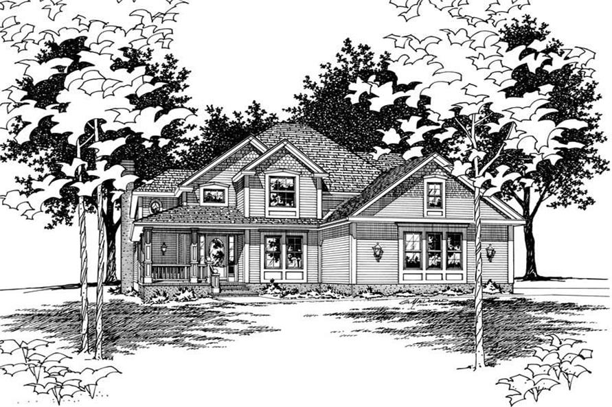 Main image for house plan # 6127