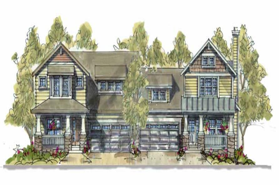Main image for house plan # 6415