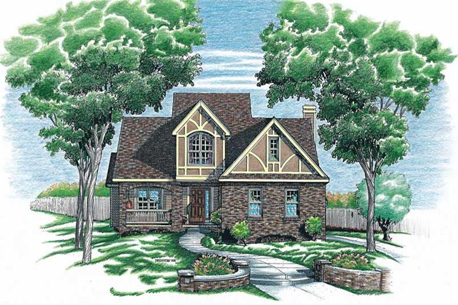 Main image for house plan # 6312
