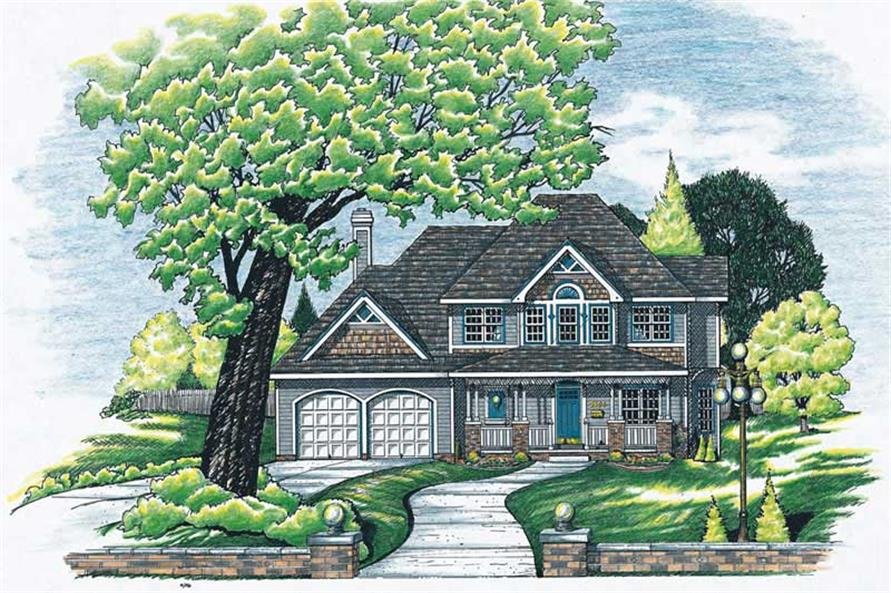 Main image for house plan # 6203