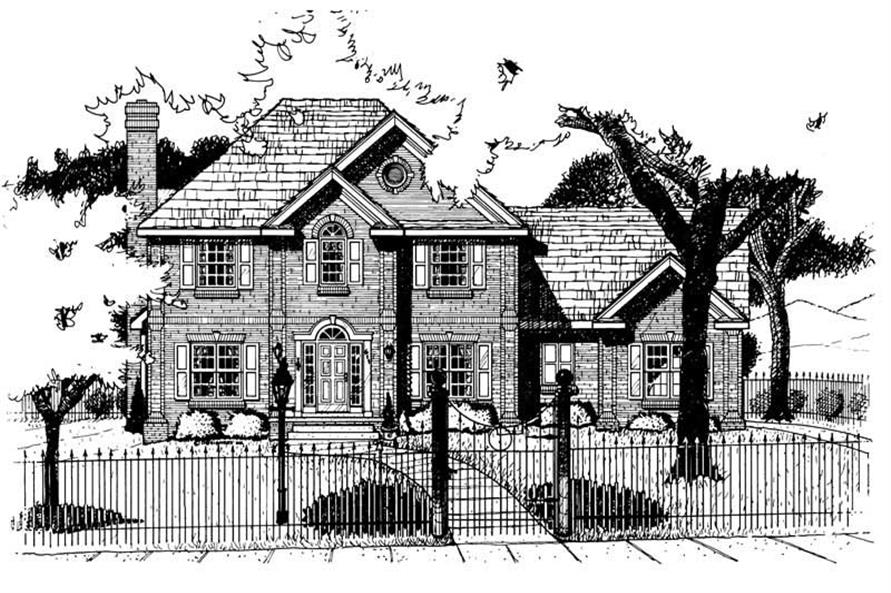 Main image for house plan # 6202