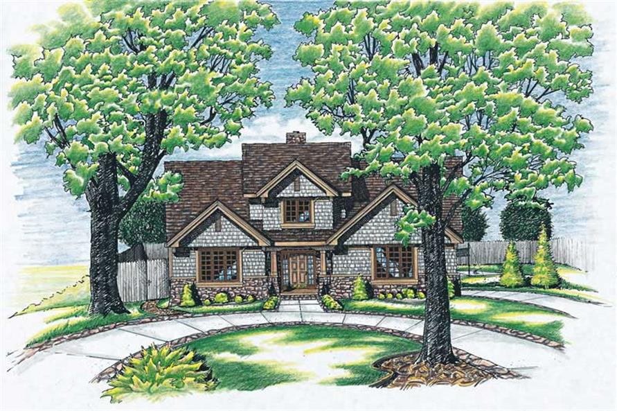 Main image for house plan # 6199