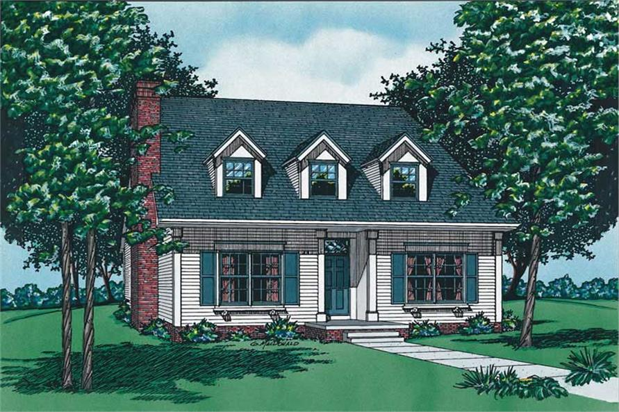 Main image for house plan # 6179