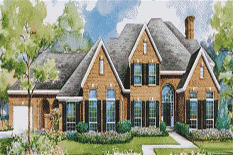 Main image for house plan # 6421