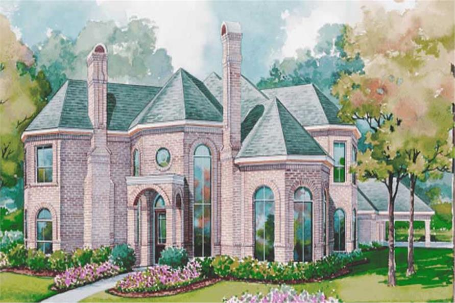 Main image for house plan # 6437