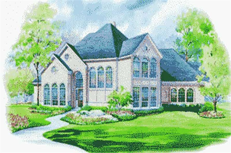 Main image for house plan # 6429