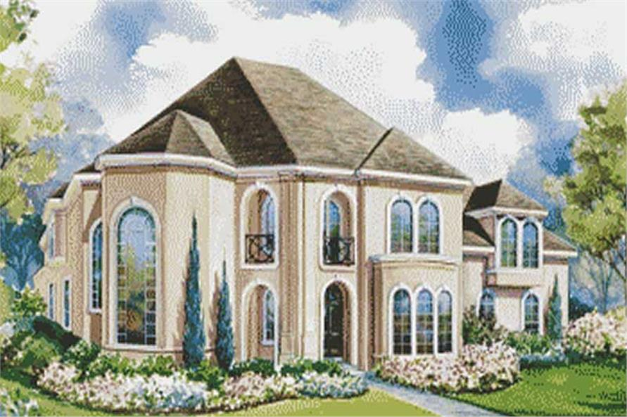 Main image for house plan # 6422
