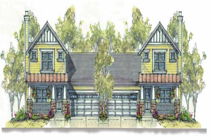 Main image for house plan # 6403