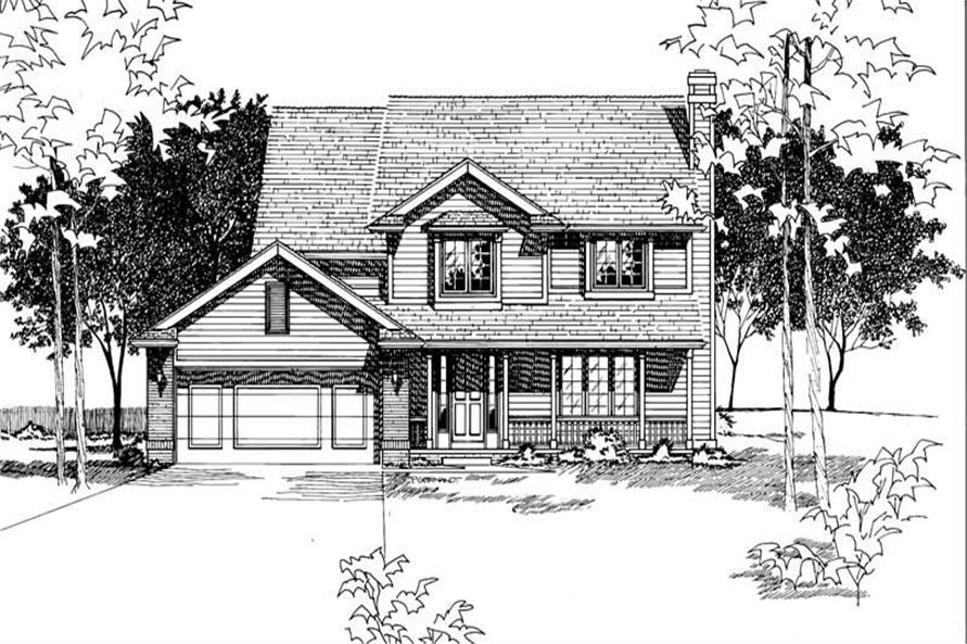 Main image for house plan # 6107