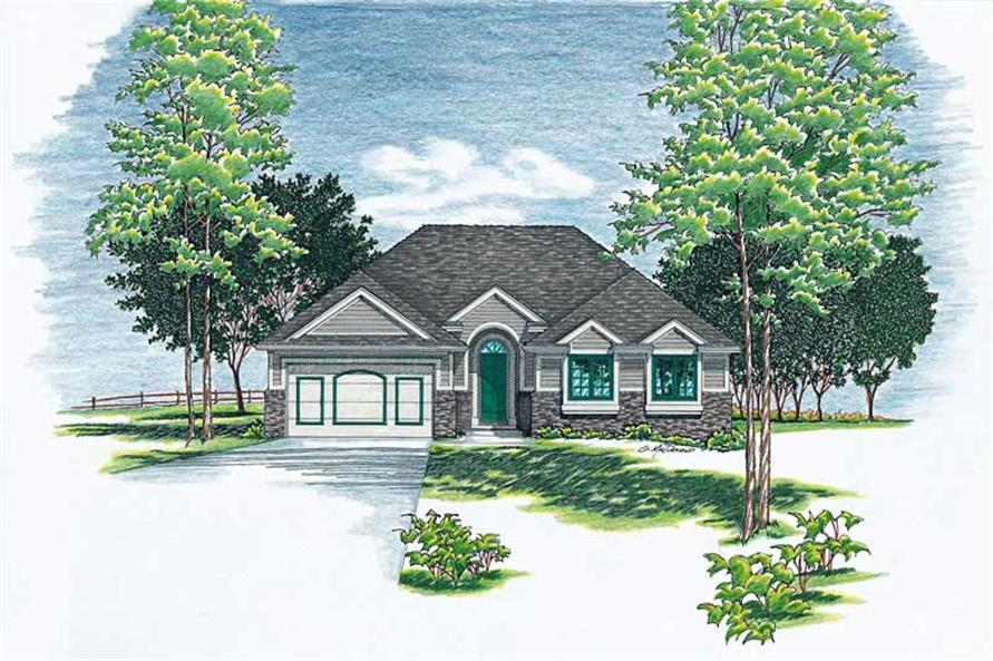 Main image for house plan # 6092