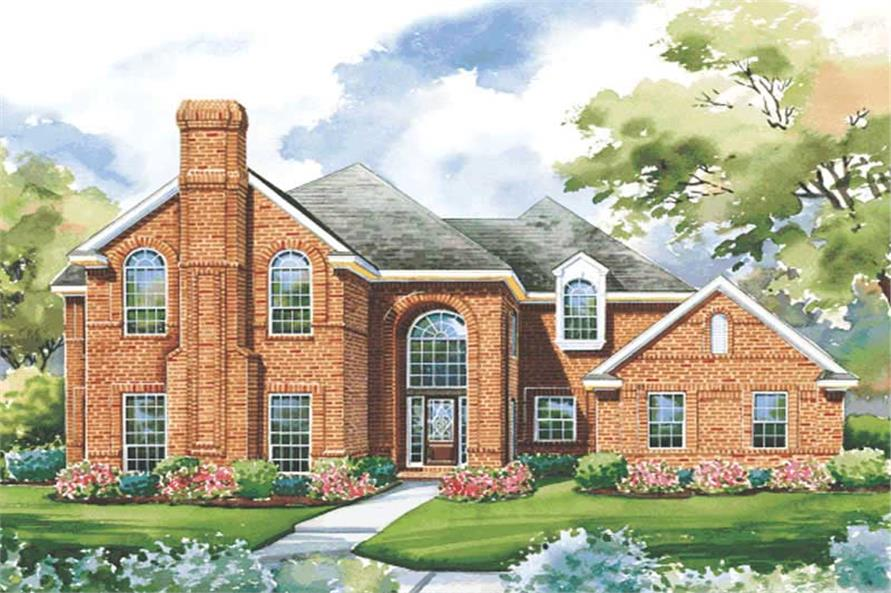 Main image for house plan # 6464