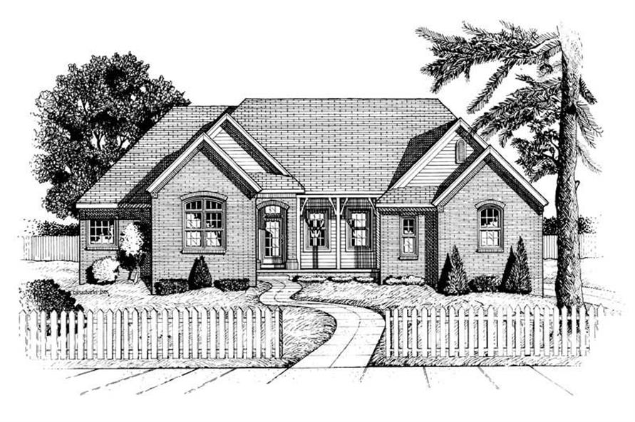 Main image for house plan # 6344