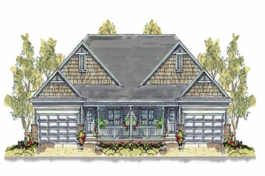Main image for house plan # 6397