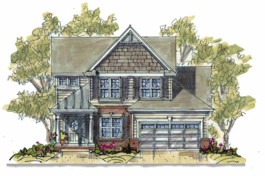 Main image for house plan # 6393
