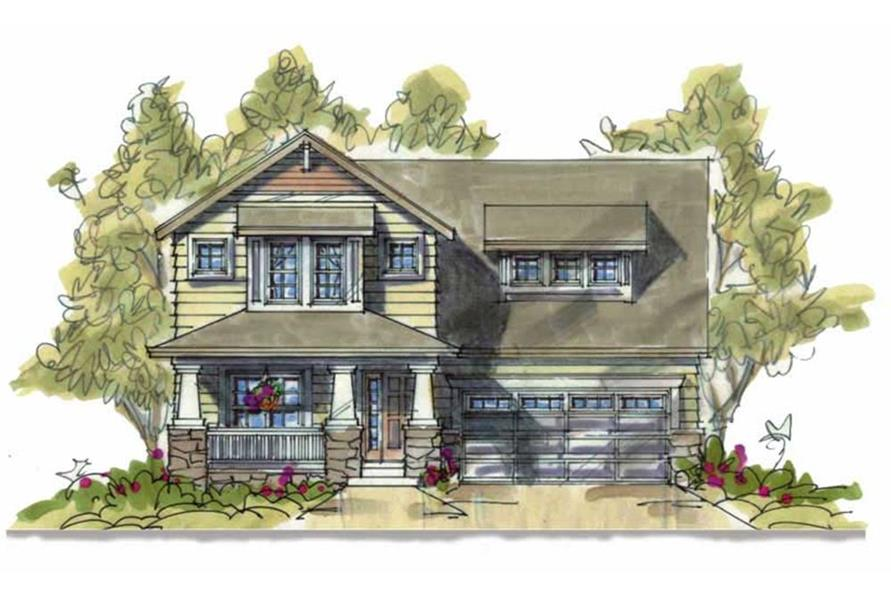 120-1639: Home Plan Rendering
