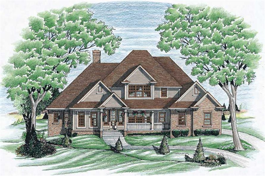 Main image for house plan # 6347