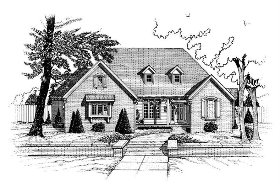 Main image for house plan # 6345