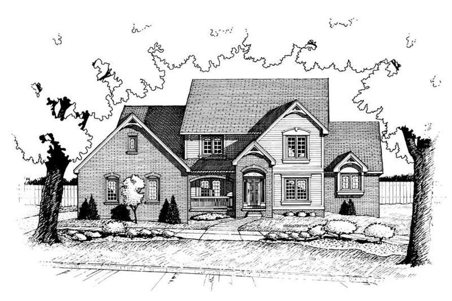 Main image for house plan # 6328