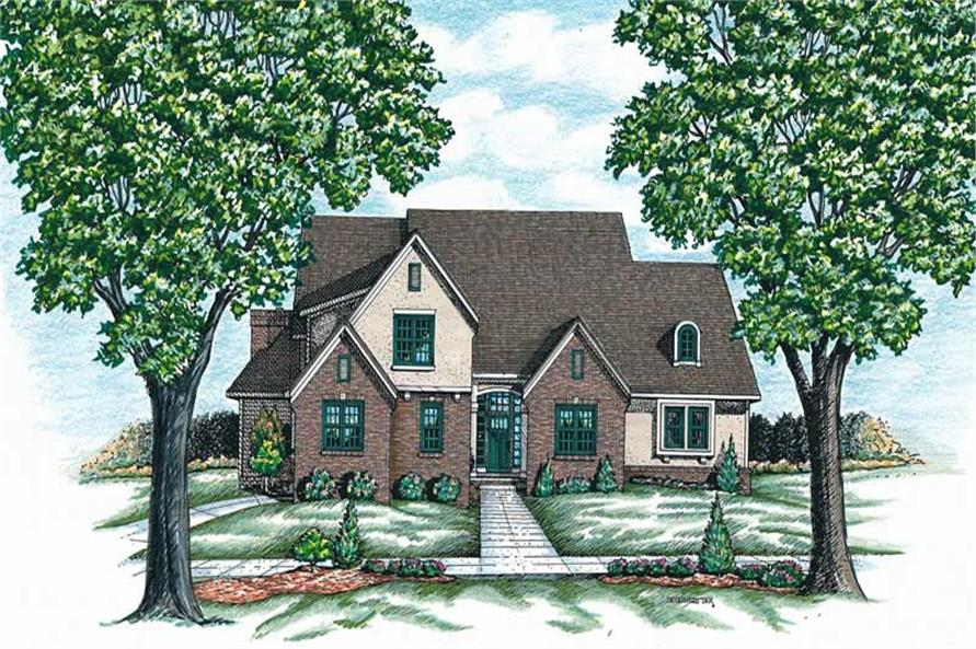 Main image for house plan # 6325