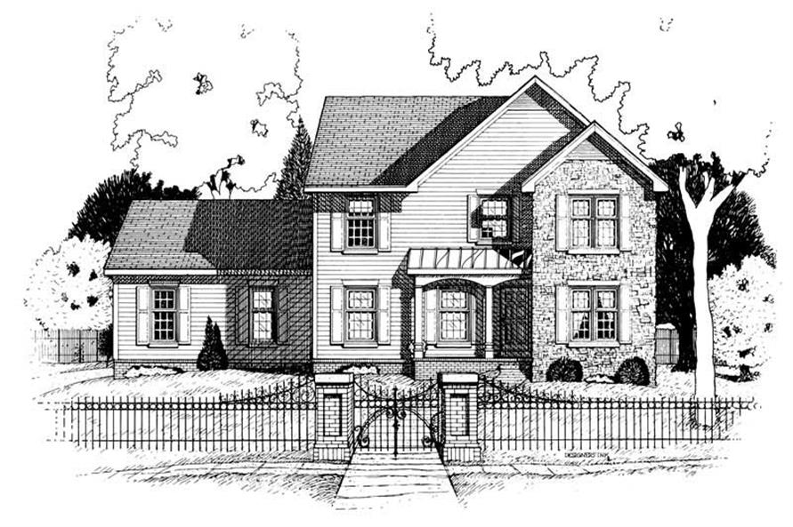 Main image for house plan # 6324