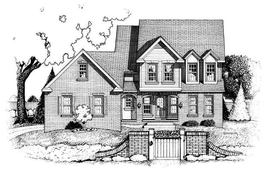 Main image for house plan # 6321