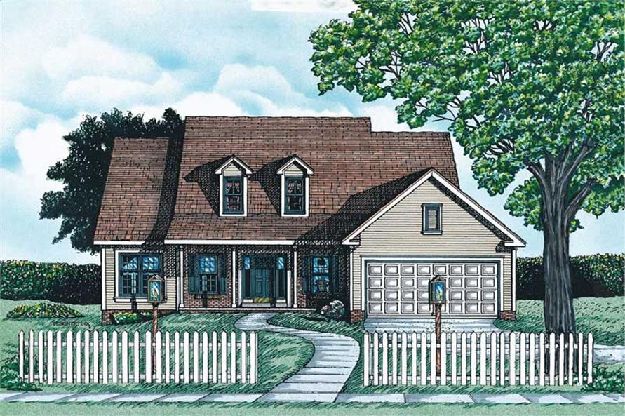 Main image for house plan # 6313