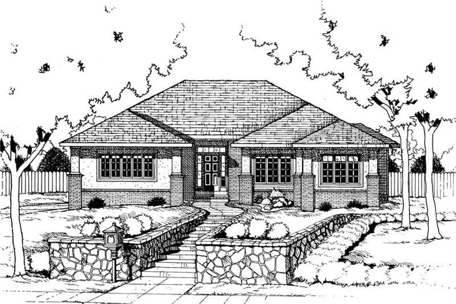 Main image for house plan # 6269