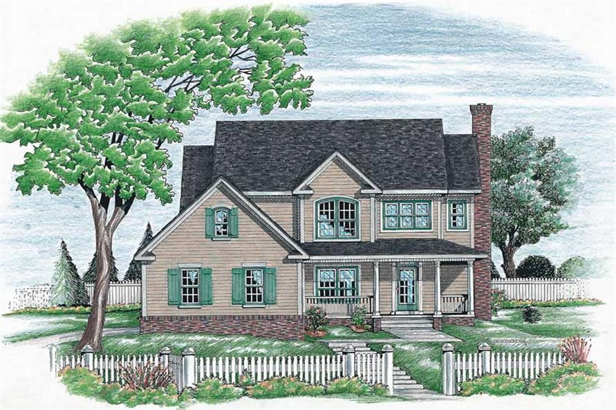 Main image for house plan # 6339