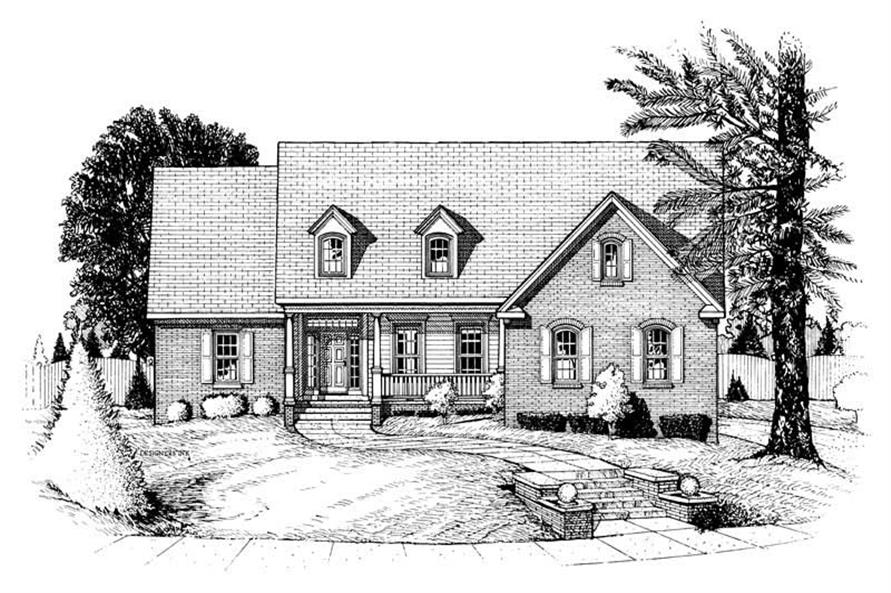 Main image for house plan # 6338